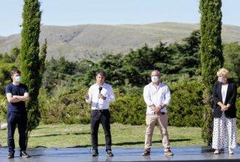 Kicillof gira otros $500 millones para reactivar turismo y cultura