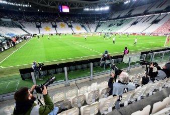 La liga de fútbol italiana anticipa pérdidas por ?1.200 millones si no reabren los estadios
