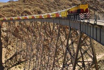 Locomotoras en marcha: hoy arranca el Tren Patagónico y mañana lo hará Tren a las Nubes