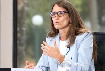 """Femicidio de Úrsula Bahillo - Elizabeth Gómez Alcorta: """"El lugar que nos dan las policías y los poderes judiciales es nulo y tenemos que decir 'hasta acá'"""""""