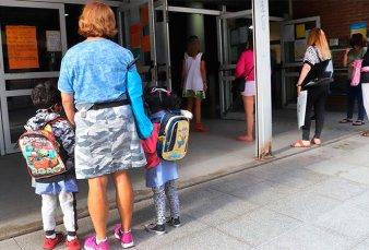 Ganaron los chicos: volvieron las clases presenciales en la ciudad
