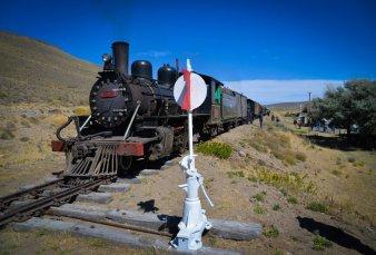 Volvió a circular en Río Negro el tren La Trochita