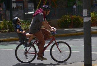 Vuelta a clases: los viajes en bici crecieron más que los de colectivos y subtes