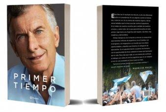 Entre autocríticas y plataforma de campaña, Macri presenta su libro