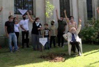 Plantaron 30 mil árboles para recordar a las víctimas de la dictadura