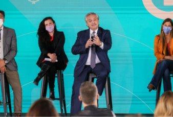 Con Echarri y Suar, Fernández lanzó un plan para la industria audiovisual