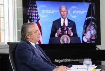 En su primera cumbre frente a Biden, Fernández reclamó por la deuda y el FMI