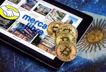 Mercado Libre Permite comprar inmuebles con BTC y otras criptos