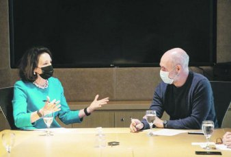 Larreta abrió su gestión por vacunas con Embajada de EE.UU.