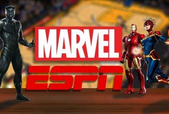 ESPN, Marvel y la NBA se unen en un inédito partido temático de Avengers con efectos especiales