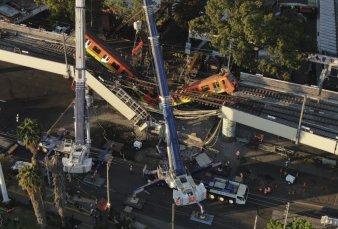 Tragedia en México: 23 muertos tras colapsar una vía elevada del metro
