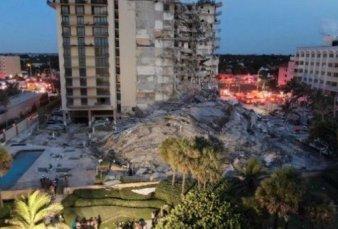 Conmoción por un derrumbe en Miami: buscan a 9 argentinos
