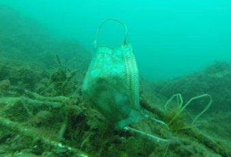 Alertan que los residuos de la pandemia formarán piscinas de microplásticos en el mar