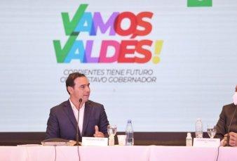 Corrientes: Valdés lanzó su campaña por la reelección