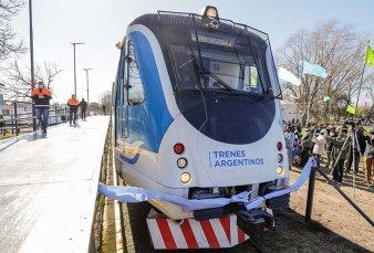 Transporte reactivó el ramal del Belgrano Sur a Marcos Paz después de 28 años
