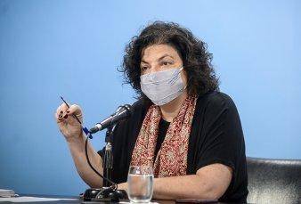 """Carla Vizzotti sobre la carta a Rusia por la Sputnik V: """"En ningún momento hubo un contrato de exclusividad con ningún laboratorio"""""""