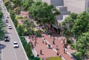 La avenida Honorio Pueyrredón de Caballito se convertirá en un parque lineal