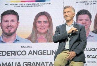 Macri se metió en la pelea santafesina para respaldar la lista del PRO y a Granata