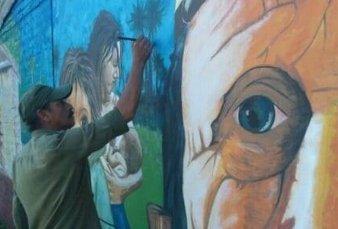 Buscan muralistas para intervenir el Alto Palermo