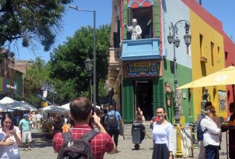 Con cambios, los barrios porteños esperan la llegada de los turistas extranjeros