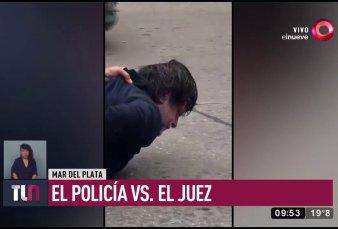 Video viral: policía increpa a un juez por liberar a un delincuente