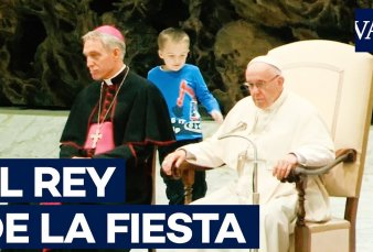 Un niño argentino fue el protagonista de una audiencia del Papa Francisco